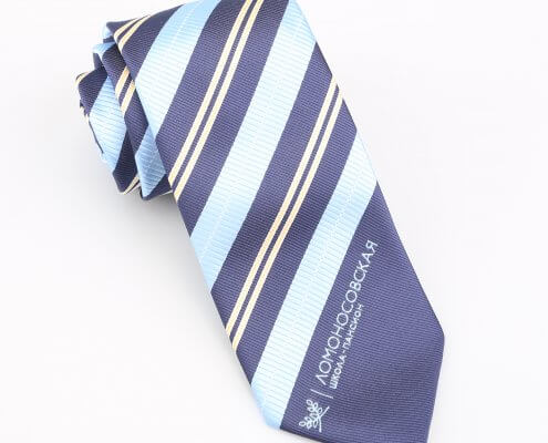 custom ties with logo