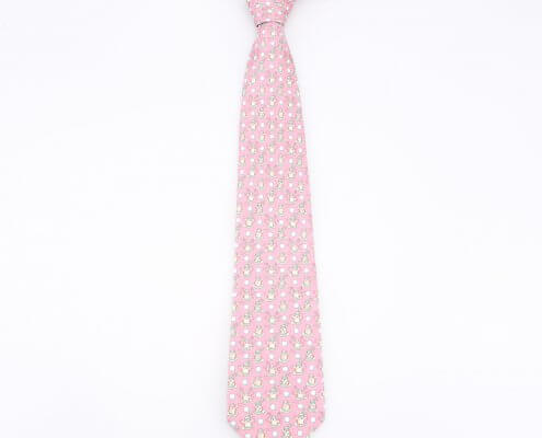 mens pink tie