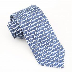 animal print tie