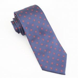 black suit navy tie